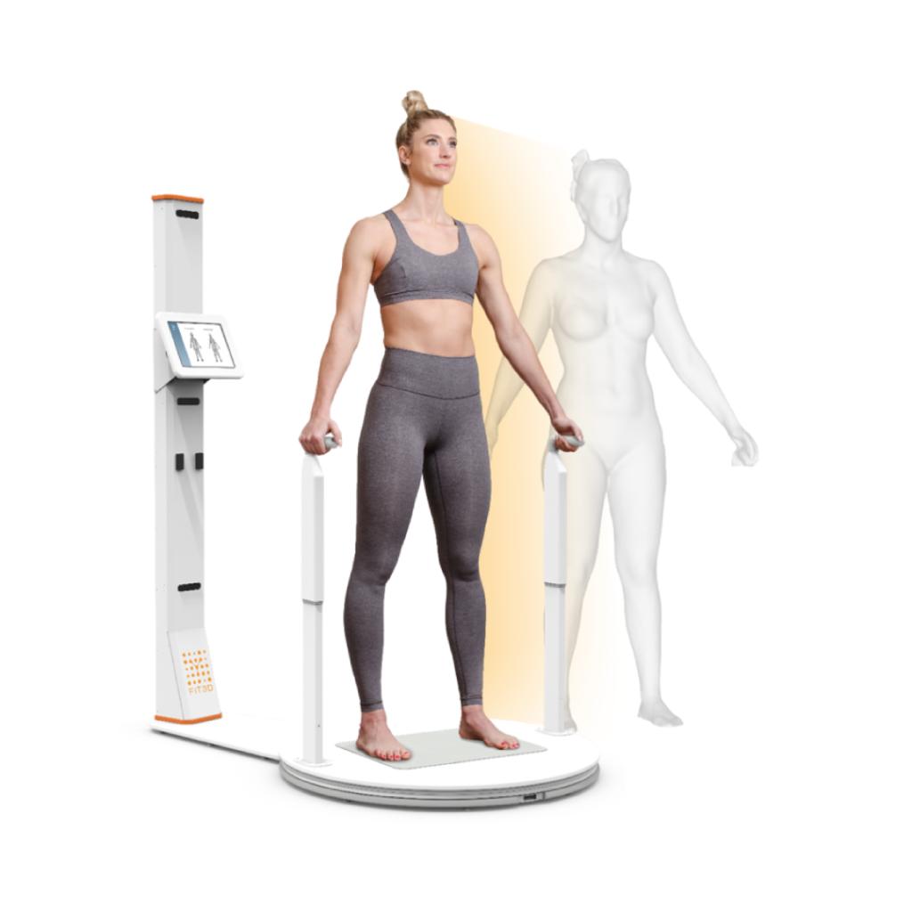Analisi misure antropometriche con fit3d body scanner